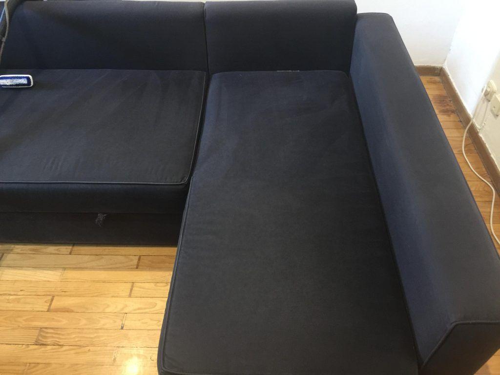 limpieza de sofás y eliminación de ácaros