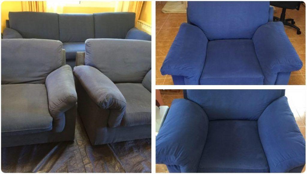 Empresa de limpieza de tapicerías, preparamos el terreno para aplicarle una limpieza a fondo de sus sofás